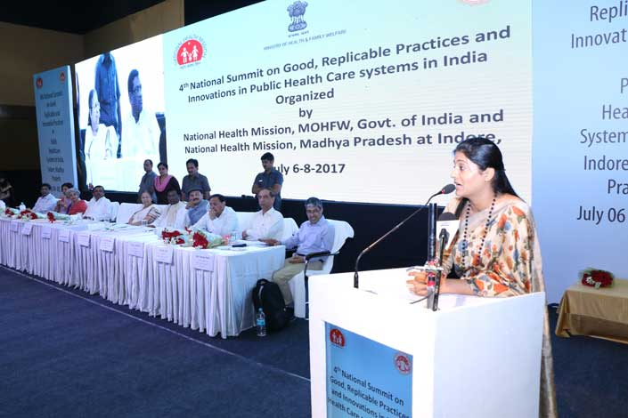 4th National Summit on Good,Replicable Practices and Innovations  in Public Health care systems in India Jul 6-8,2017