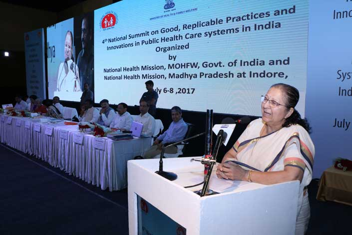 4th National Summit on Good,Replicable Practices and Innovations  in Public Health care systems in India Jul 6-8,2017_4