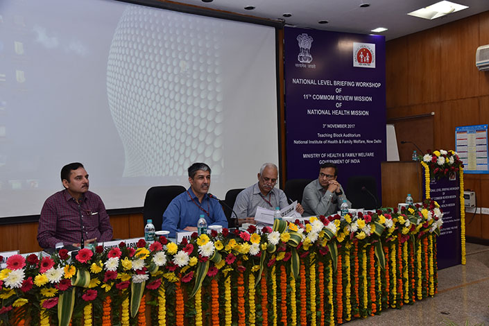 National Briefing workshop of 11th CRM of NHM