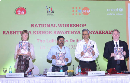 RKSK workshop on 1-2 June 2015 at New Delhi
