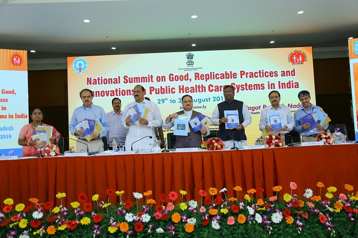 Inaugural Session-National Summit on Good Replicable Practices and innovations in Healthcare Systems on July 2-4,2015 at Shimla